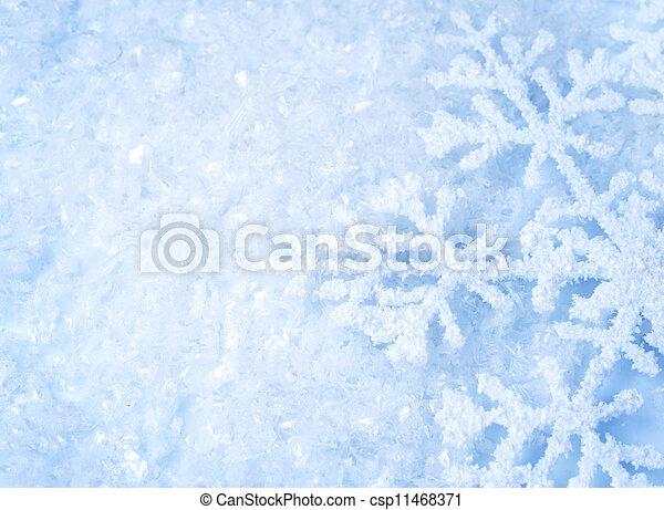 雪 - csp11468371