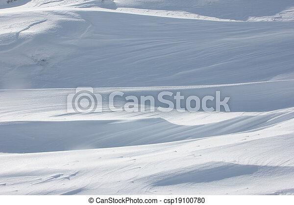 雪 - csp19100780