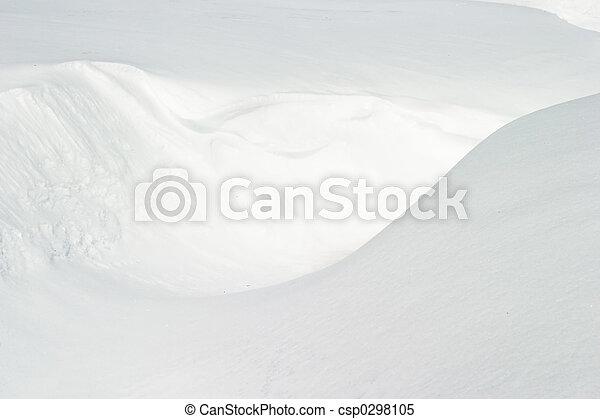 雪, 手ざわり - csp0298105