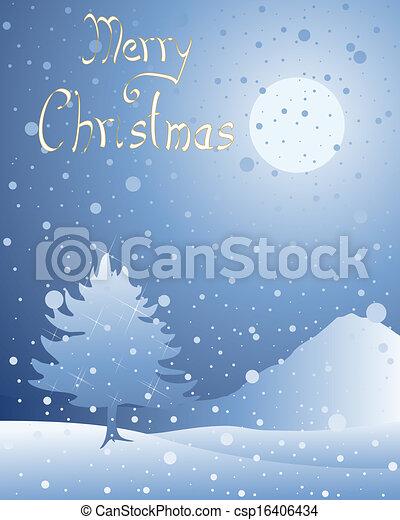 雪, 挨拶 - csp16406434