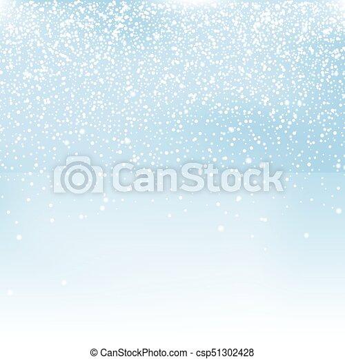 雪, 背景 - csp51302428