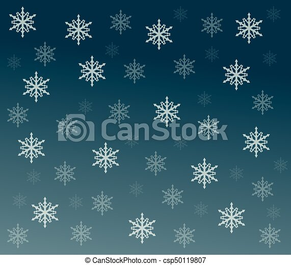 雪, 背景 - csp50119807