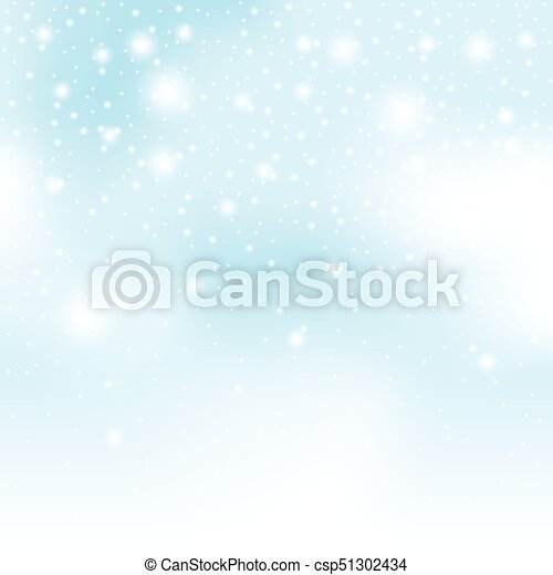 雪, 背景 - csp51302434