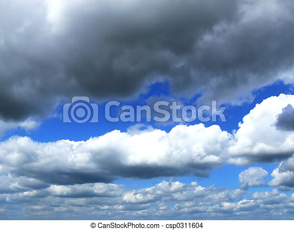 雲, 空 - csp0311604
