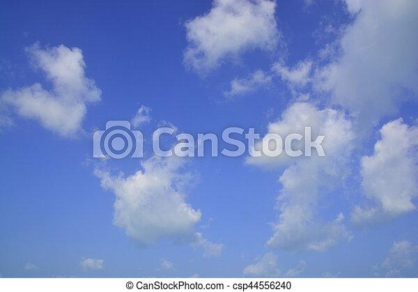 雲, 空 - csp44556240