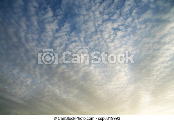 雲, 背景 - csp0319993