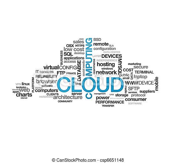 雲, 計算 - csp6651148