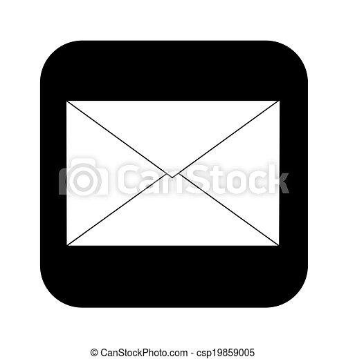 電子メール, アイコン - csp19859005