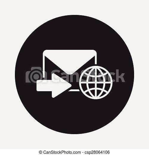電子メール, アイコン - csp28064106
