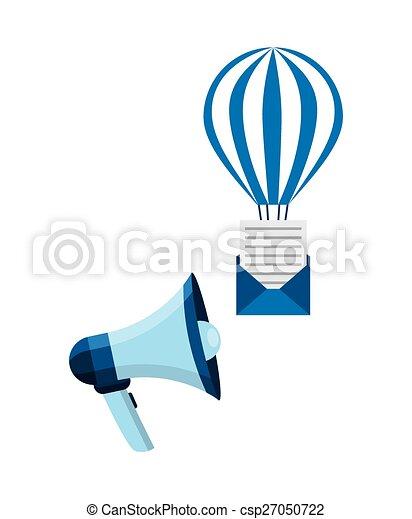 電子メール, 概念 - csp27050722