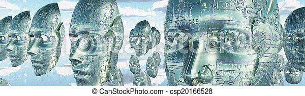 電子, 臉 - csp20166528