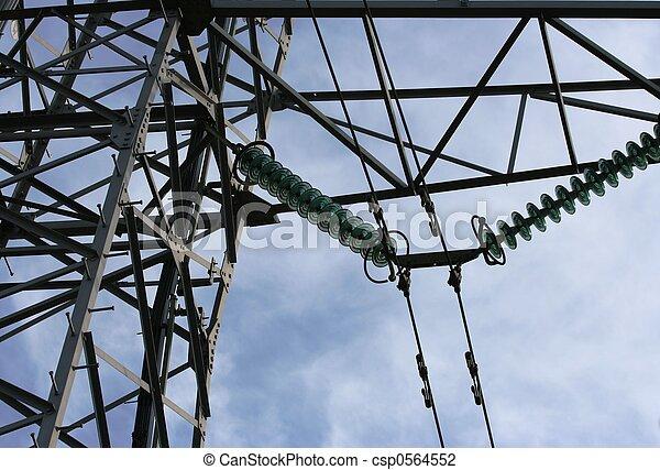 電気, マスト - csp0564552