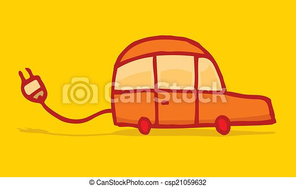 電気 車, 面白い, エネルギー - csp21059632