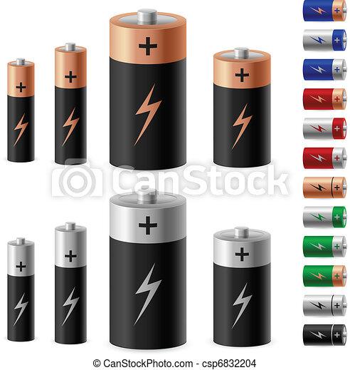 電池, セット - csp6832204