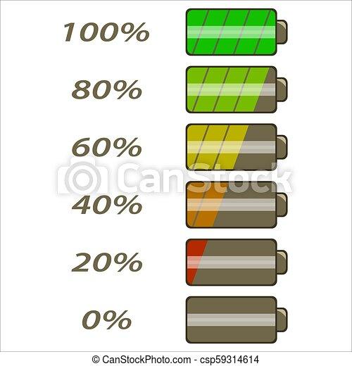 電池, 力, levels6 - csp59314614