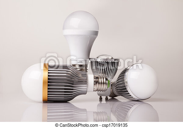 電球, リードした - csp17019135