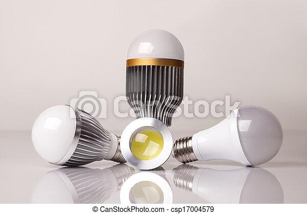 電球, リードした - csp17004579
