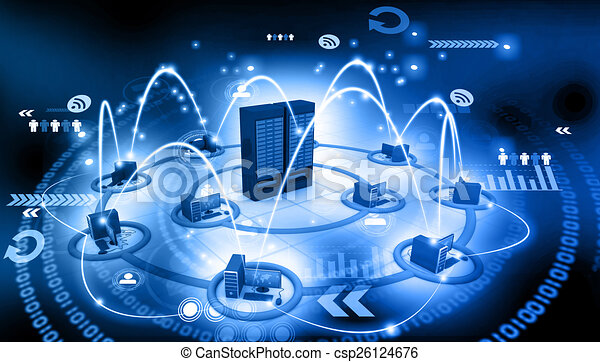 電腦網路, 服務器 - csp26124676