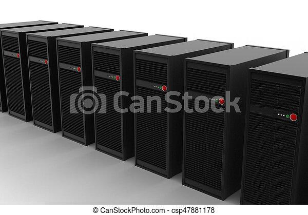 電腦網路, 服務器 - csp47881178