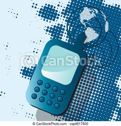 電話 - csp4817600