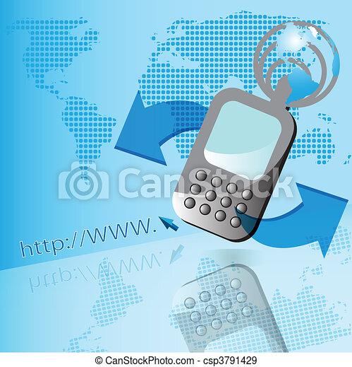 電話 - csp3791429
