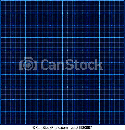 青いライト, 光線, 3d, mosaic. - csp21830887