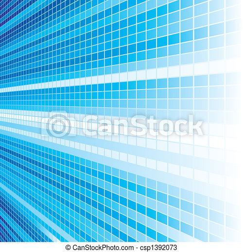 青いライト - csp1392073