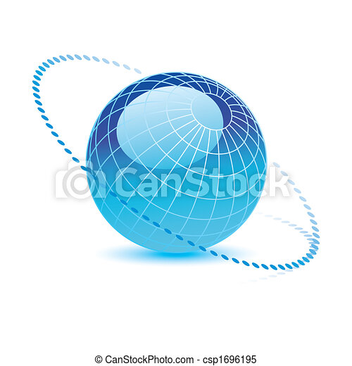青い地球, ベクトル - csp1696195
