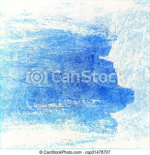 青い背景 - csp31478707