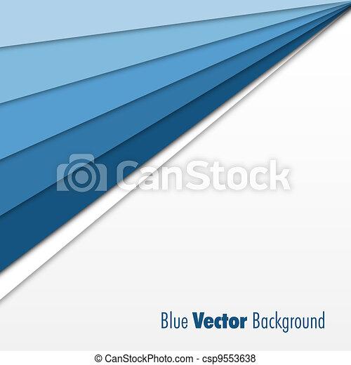 青い背景 - csp9553638