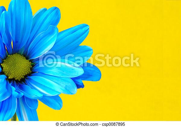 青い花 - csp0087895