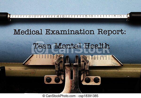 青少年, 健康, 精神 - csp18391385