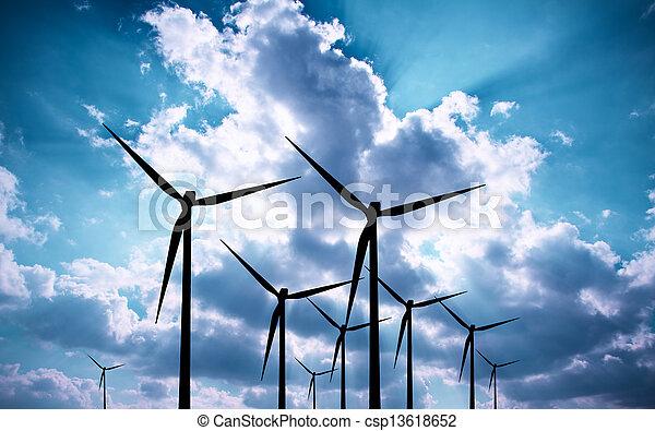 青, エネルギー - csp13618652