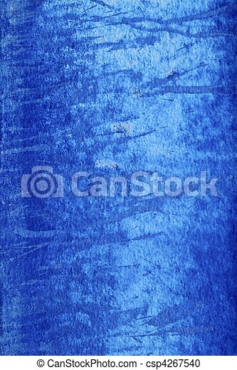 青, グランジ, 壁, 手ざわり, 背景, 年を取った - csp4267540
