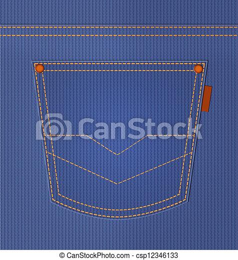 青 スタイル デニム Pocket ジーンズ イラスト バックグラウンド