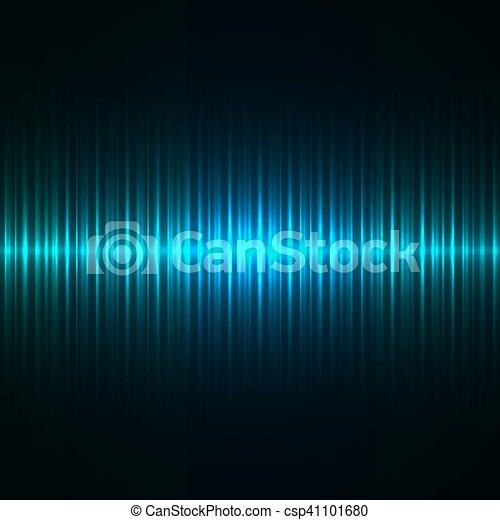 青, ストローク, ライト, 抽象的, バックグラウンド。, ベクトル - csp41101680
