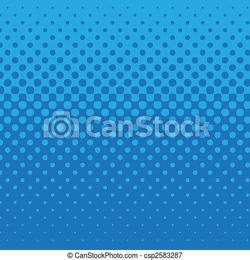 青, パターン, 点 - csp2583287