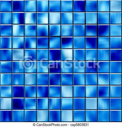 青, ブロック - csp5803831