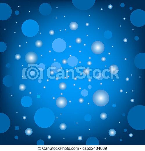 青, 効果, 背景, 円 - csp22434089