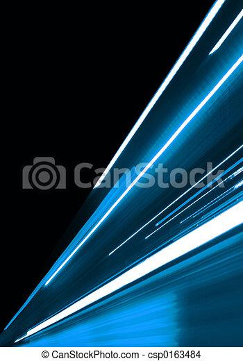 青, 動き - csp0163484