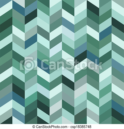 青, 抽象的, モザイク, 背景 - csp18385748
