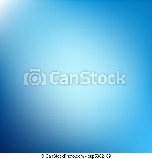 青, 抽象的, 背景, 壁紙 - csp5382109