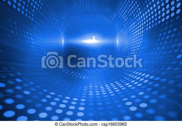 青, 未来派, 背景 - csp16653965