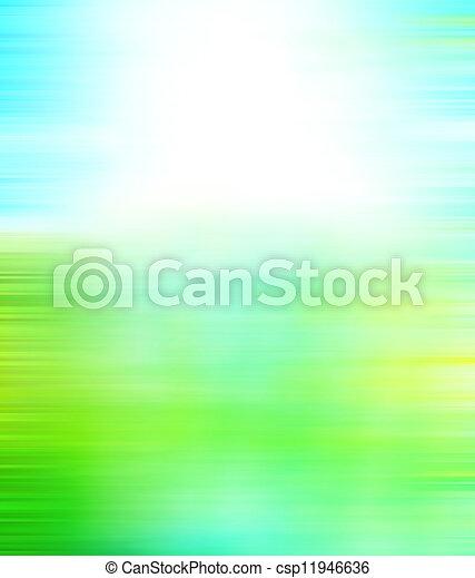 青, 背景。, 芸術, background:, パターン, 型, 抽象的, textured, /, 黄色, ペーパー, 緑, フレーム, 白, グランジ, sky-like, ボーダー, デザイン, 手ざわり - csp11946636