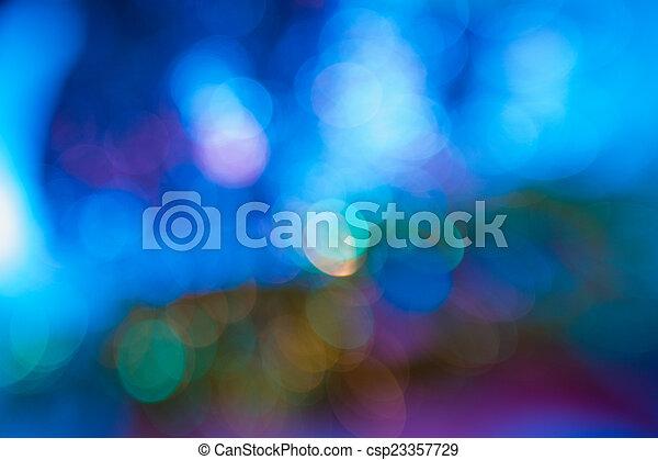 青, 赤い背景 - csp23357729