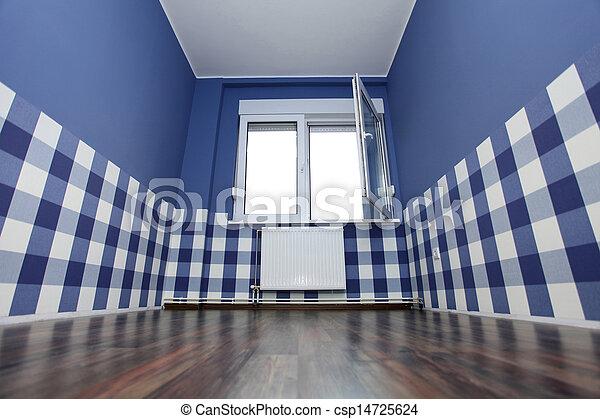 青 部屋 壁 壁紙 青い白 空