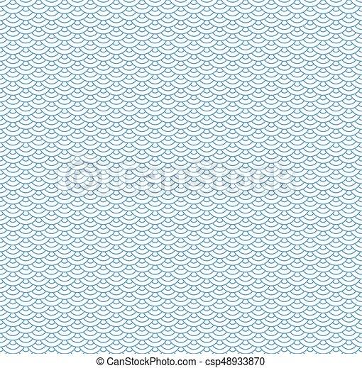 青, 雲, 中国語, パターン, 装飾, seamless, 伝統的である, 東洋人, 背景 - csp48933870