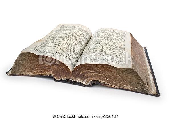 非常に, 聖書, 古い - csp2236137