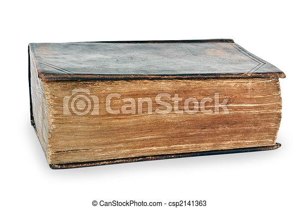 非常に, 聖書, 古い, 神聖 - csp2141363