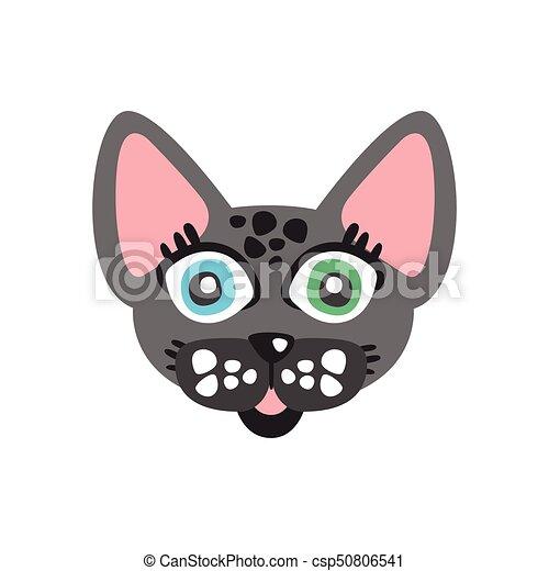 面白い かわいい ペット 特徴 国内 灰色 イラスト ねこ ベクトル